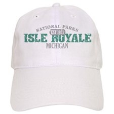 Isle Royale National Park MI Baseball Cap