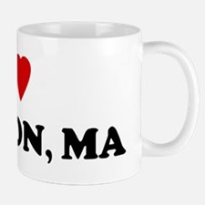 I Love Newton Mug