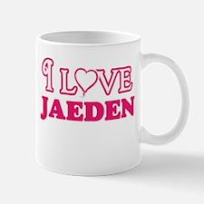 I Love Jaeden Mugs