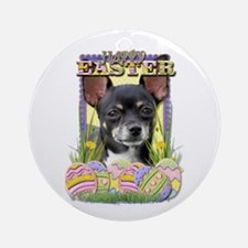 Easter Egg Cookies - Chihuahua Ornament (Round)