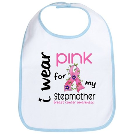 I Wear Pink 43 Breast Cancer Bib