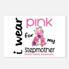 I Wear Pink 43 Breast Cancer Postcards (Package of