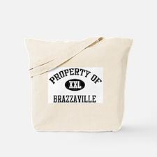 Property of Brazzaville Tote Bag