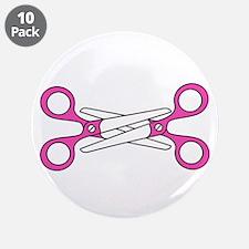 "Scissoring 3.5"" Button (10 pack)"