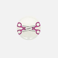 Scissoring Mini Button (100 pack)