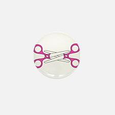 Scissoring Mini Button (10 pack)