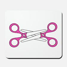 Scissoring Mousepad