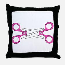Scissoring Throw Pillow