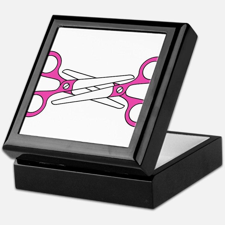 Scissoring Keepsake Box
