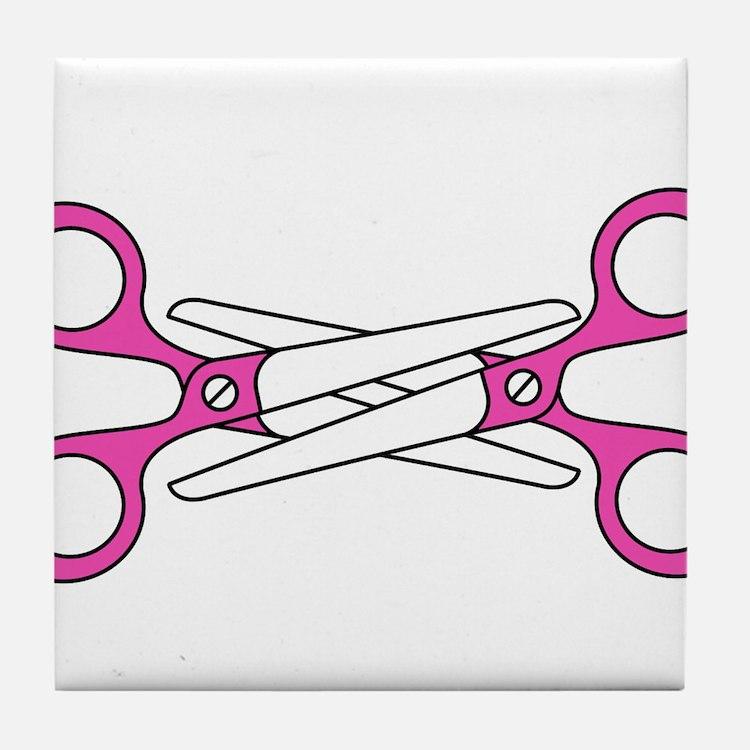 Scissoring Tile Coaster
