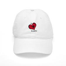 I Love Kumite Karate Gear - Baseball Cap