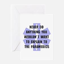 Paramedics Greeting Card