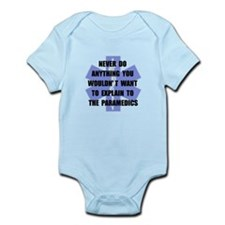 Paramedics Infant Bodysuit