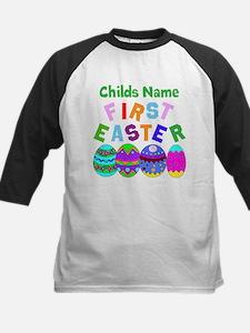 First Easter Kids Baseball Jersey