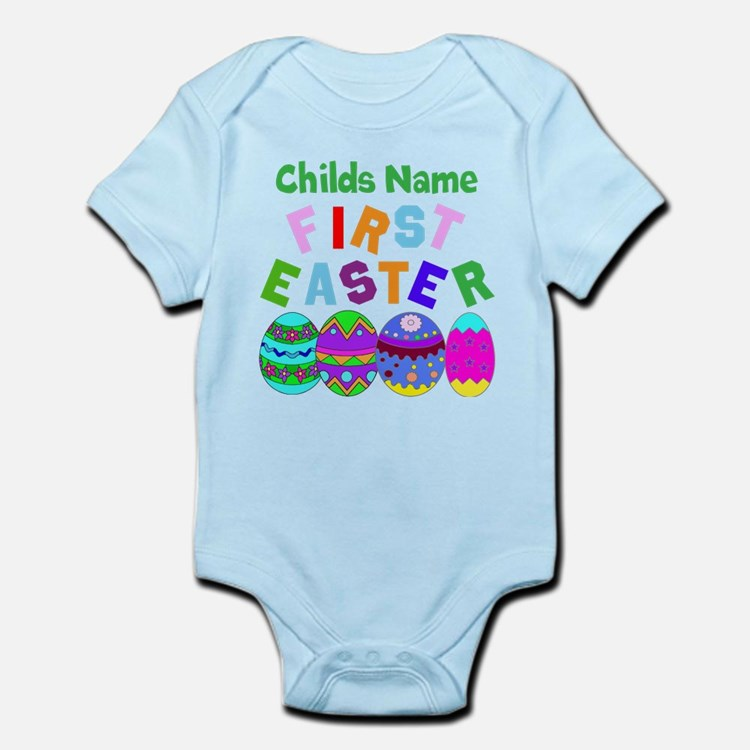 First Easter Infant Bodysuit