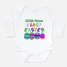 First Easter Long Sleeve Infant Bodysuit