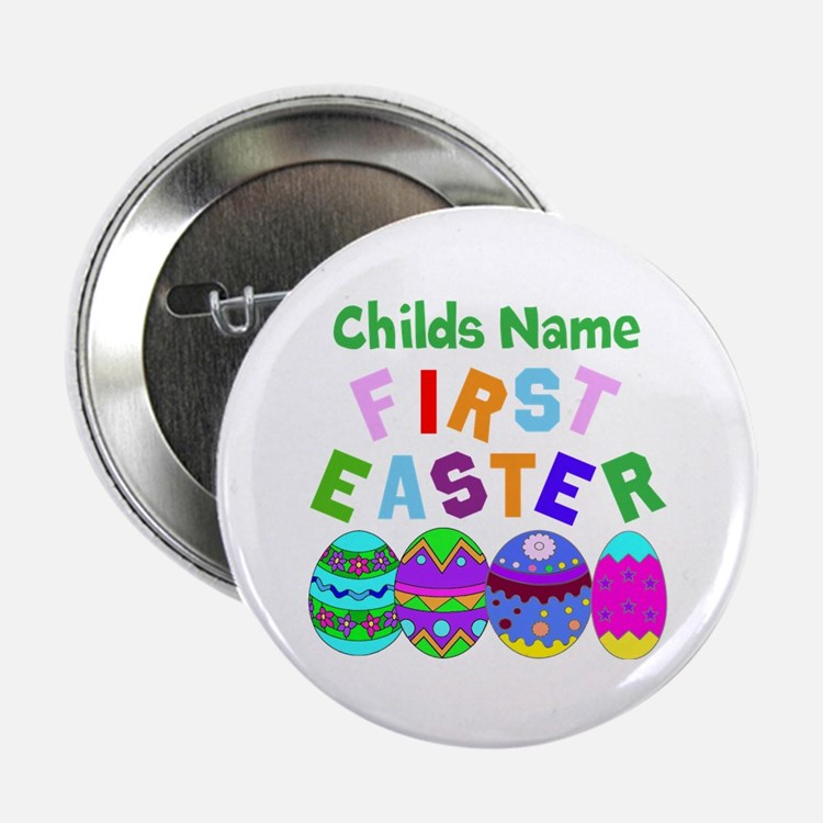 """First Easter 2.25"""" Button (100 pack)"""