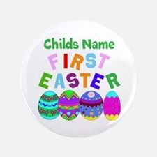 """First Easter 3.5"""" Button (100 pack)"""