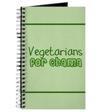 Vegetarians for Obama Journal