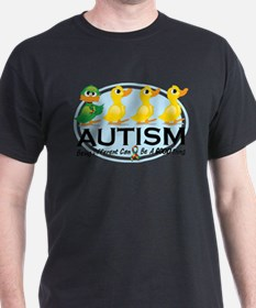 Autism-ugly-duckling-white T-Shirt
