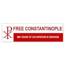 Free Constantinople Bumper Bumper Sticker