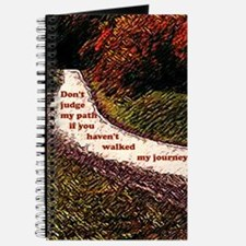 Don't Judge my Path Journal