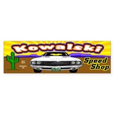 Kowalski Speed Shop - Color Bumper Sticker