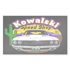 Kowalski Speed Shop - Color Decal