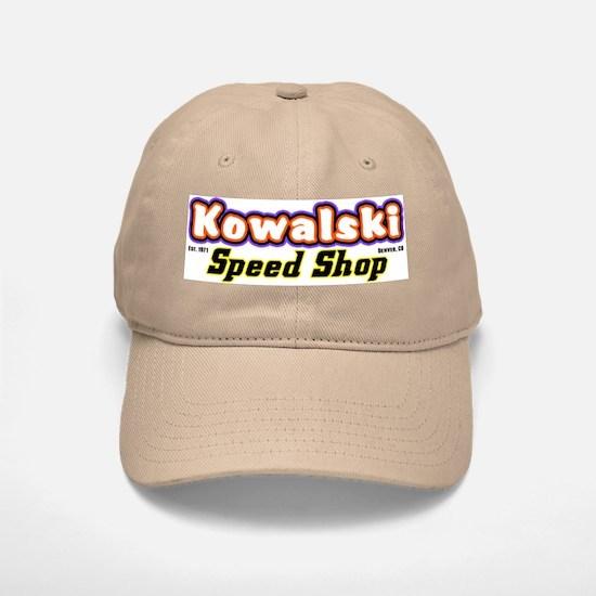 Kowalski Speed Shop - Color Baseball Baseball Cap