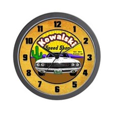 Kowalski Speed Shop - Color Wall Clock