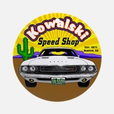 Kowalski Speed Shop - Color Ornament (Round)