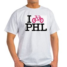 2-bike phl cafe press lg T-Shirt