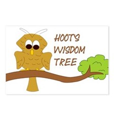 Hoot's Wisdom Tree Postcards (Package of 8)