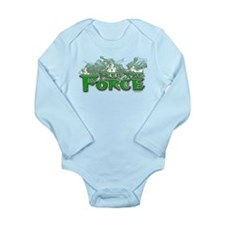 Feel The Force Long Sleeve Infant Bodysuit