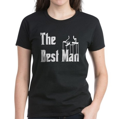 The Best Man Women's Dark T-Shirt