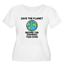 Save the Planet / Zombies T-Shirt