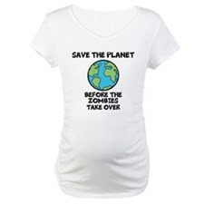 Save the Planet / Zombies Shirt
