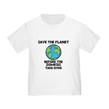 Save the Planet / Zombies T