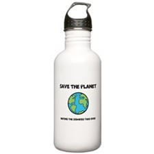 Save the Planet / Zombies - Water Bottle