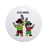 Ornament (Round) - little brother