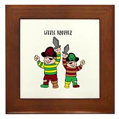 Framed Tile - little brother