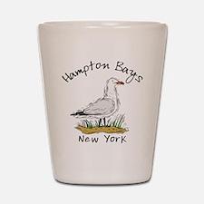 Hampton Bays NY Shot Glass
