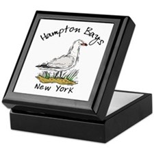 Hampton Bays NY Keepsake Box