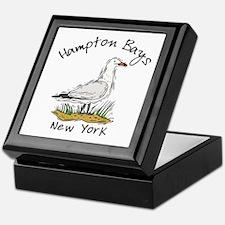 Hampton Bays NY Keepsake Box