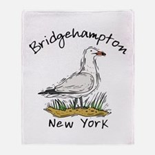 Bridgehampton, NY Throw Blanket