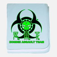 Cute Zombie apocalypse baby blanket