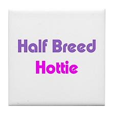 Biracial Pride Tile Coaster