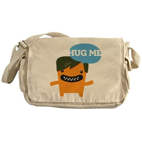 Hug Me Love Me Messenger Bag