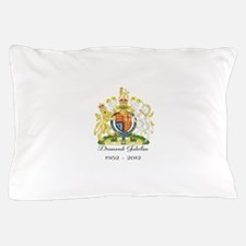 Diamond Jubilee Design Pillow Case
