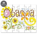 Obama Garden Puzzle